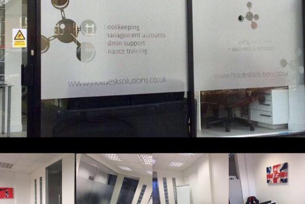 Hot desk solutions Sutton